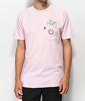 RIPNDIP Nermamaniac Pink T-Shirt