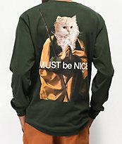 RIPNDIP Nermus Green Long Sleeve T-Shirt