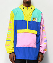 RIPNDIP x Teddy Fresh 2.0 Colorblock Anoorak Jacket