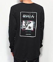 RVCA Balance Flyer camiseta negra de manga larga