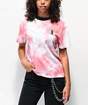 Ragged Jeans Pink Tie Dye T-Shirt