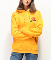 Rebel Soul Fuck It Rose Yellow Hoodie
