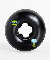 Ricta Sparx 53mm 101a Black Skateboard Wheels