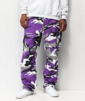 Rothco BDU Tactical Camo pantalones cargos en morado