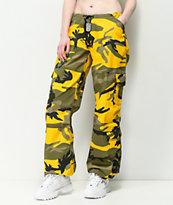 Rothco BDU pantalones de camuflaje amarillo