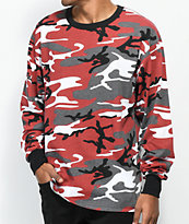 Rothco Red Camo Long Sleeve T-Shirt
