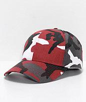 Rothco Red Camo Strapback Hat