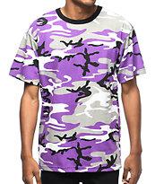 Rothco Ultra camiseta camuflada en color morado