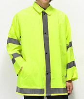 Rothco chaqueta reflectante verde neón