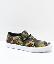 Rothco x Supra Cuba Can't See Me Camo Skate Shoes