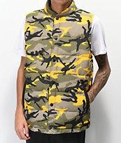Rothco x Vitriol Stryker Yellow Camo Vest