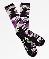 Rothco x Vitriol Zing calcetines de camuflaje morado