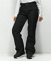 Roxy Backyard True Black 10K Snowboard Pants