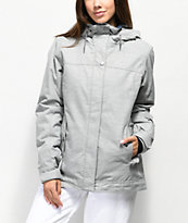 Roxy Billie Heather Grey 10K Snowboard Jacket