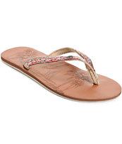 Roxy Chia II Brown Sandals