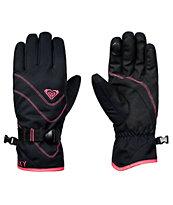 Roxy Jetty guantes de snowboard en negro