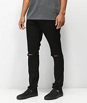 Rustic Dime Blowout Roadster Black Denim Jeans