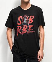 SOB x RBE Ski Mask 3D camiseta negra