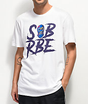SOB x RBE Ski Mask White T-Shirt