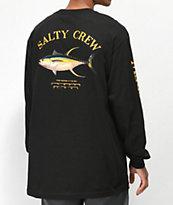 Salty Crew Ahi Mount Black Long Sleeve T-Shirt