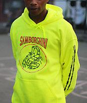Samborghini Scorpion Green Hoodie