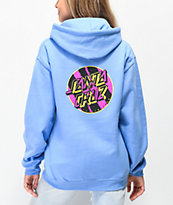 Santa Cruz Brush Dot Blue Hoodie