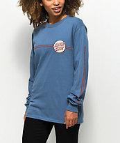 Santa Cruz Other Dot camiseta de manga larga con rayas