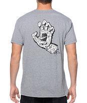 Santa Cruz Tattooed Hand camiseta