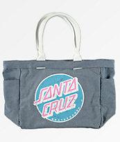 Santa Cruz bolso tote de mezclilla lavada