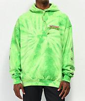 Santa Cruz x TMNT Mutagen Lime Green Tie Dye Hoodie