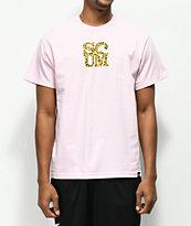Scum Love Leopard Pink T-Shirt