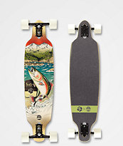 "Sector 9 x Salty Timbers Tackle Fractal 36"" Longboard Complete"