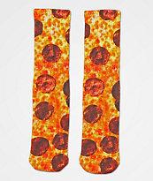 Skate Mental Pepperoni Pizza Crew Socks