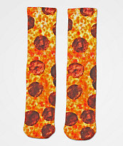 Skate Mental Pepperoni Pizza calcetines