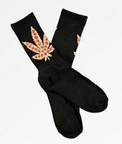 Skate Mental Pizza Leaf calcetines