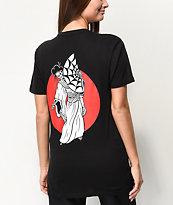 Sketchy Tank Geisha Black T-Shirt