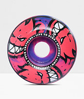 Spitfire Formula Four Afterburner 55mm 99a Blue & Pink Skateboard Wheels