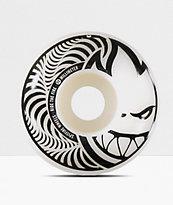Spitfire Hypno-Swirl Black & White 52mm Skateboard Wheels