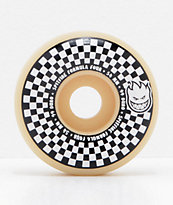 Spitfire x Vans Formula Four Conical 54mm 99a ruedas de skate a cuadros en negro y blanco