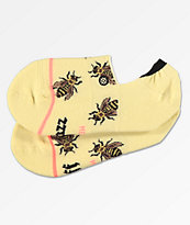 Stance Buzz Chill Yellow No Show Socks