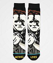Stance Michael Myers Black Crew Socks