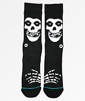 Stance Misfits Black Crew Socks