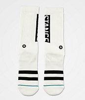 Stance OG calcetines blancos