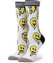 Stance Outbreak Smiley Trip Crew Socks