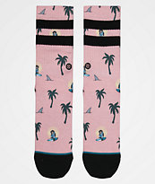 Stance Sunset Surfin Monkey calcetines para niños