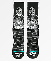 Stance x Sketchy Tank Reaper Greeter calcetines negros