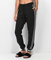 Starter Black Side Vent Jogger Sweatpants