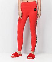 Starter Red Leggings