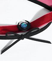 Stone + Locket 2 pack gargantillas en rojo y negro