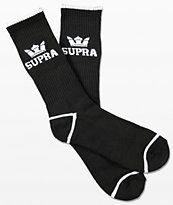Supra  Crown calcetines negros